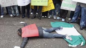 Demonstration nach dem Tod des Ausschaffungshäftlings (Archiv)