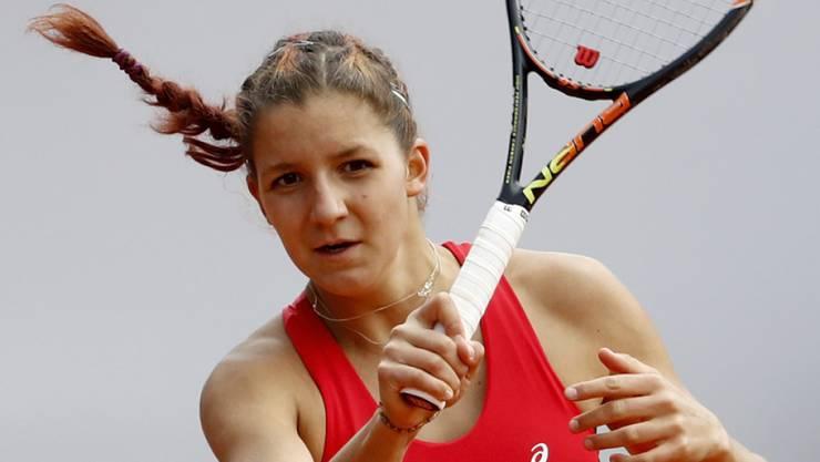 Auf dem Weg nach vorne: Rebeka Masarova überrascht in Gstaad weiter