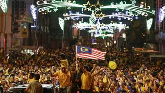 Zehntausende demonstrieren gegen die malaysische Regierung