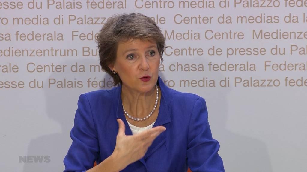 Bundesrat beschliesst neue Corona-Massnahmen