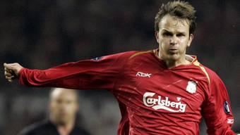 Dietmar Hamann (l.) während eines Champions-League-Spiels mit Liverpool