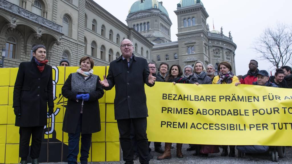 Bundesrat lehnt Prämieninitiative der SP ab
