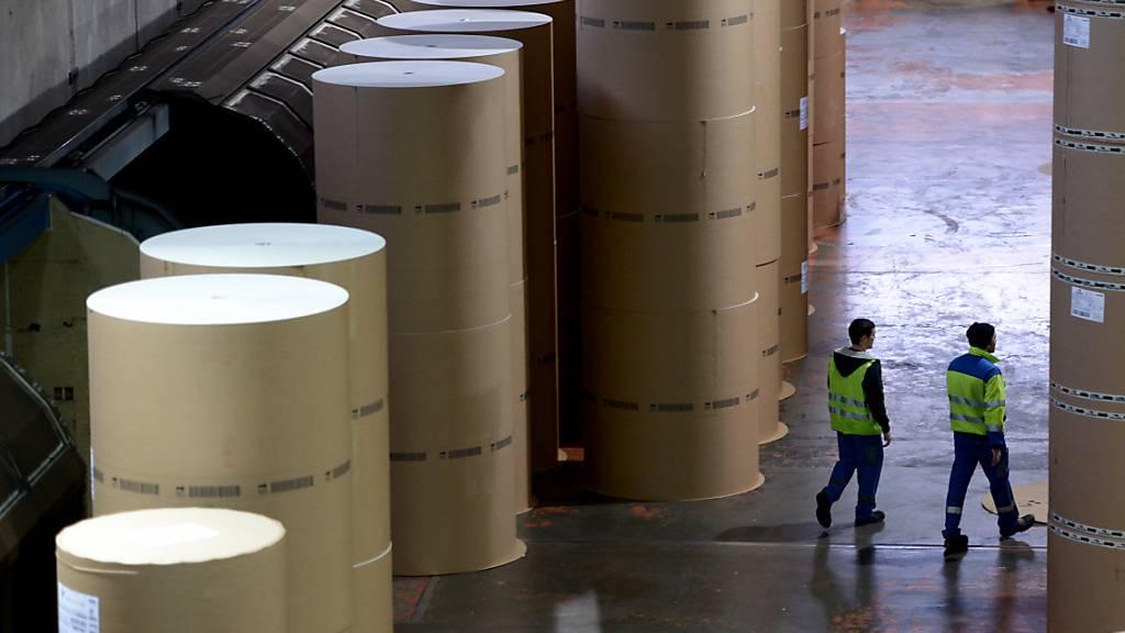 Das Papiergeschäft der CPH Chemie + Papier Holding in Perlen LU war im ersten Halbjahr 2021 unter Druck. (Archivaufnahme)