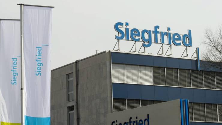 Mehr Umsatz, aber weniger Gewinn bei Siegfried.