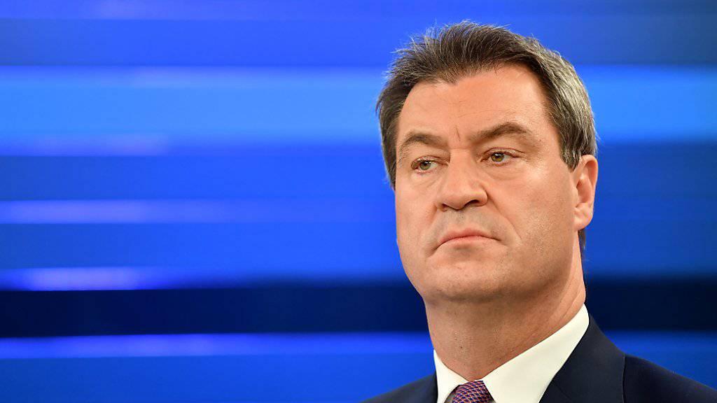 Bayerns Ministerpräsident Markus Söder will Horst Seehofer auch als CSU-Chef beerben. (Archivbild)