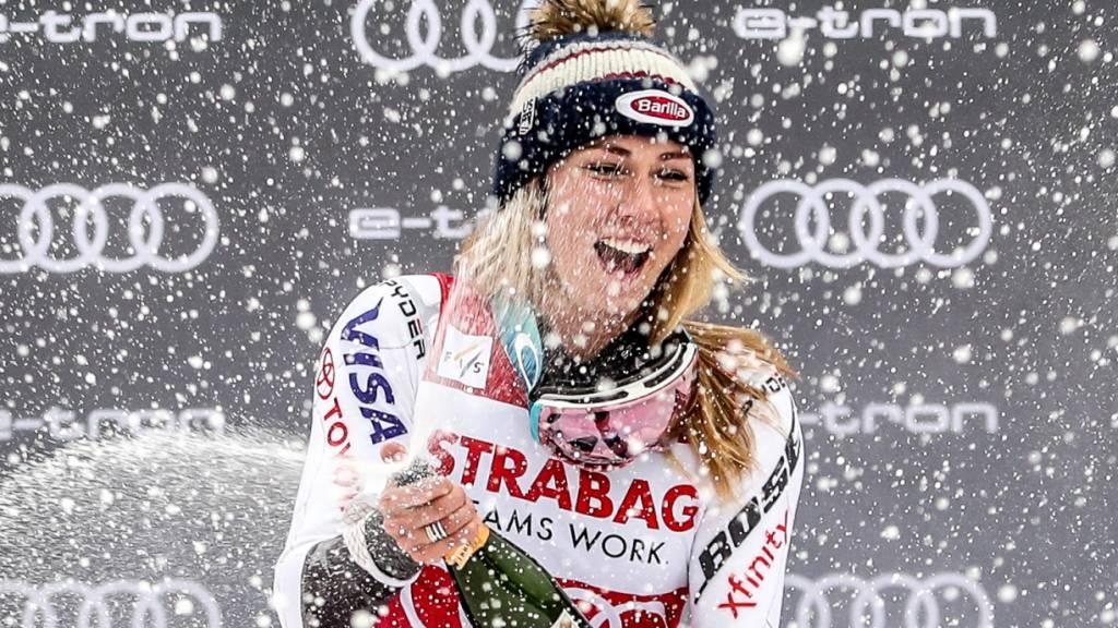 Zweiter «Skieur d'Or» für Mikaela Shiffrin