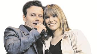 Beim Duett hat es gefunkt: Florian Ast und Francine Jordi.  Martin Platter