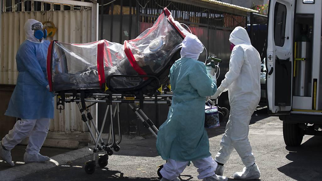 US-Universität: Bereits mehr als 2,5 Millionen Corona-Tote weltweit