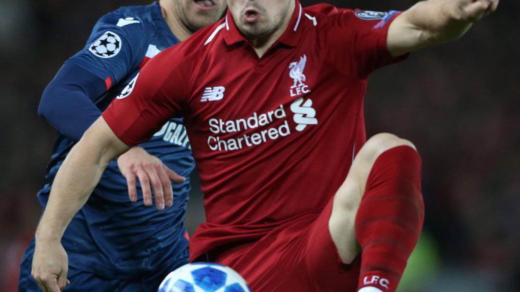 Xherdan Shaqiri kommt und trifft gegen Aufsteiger Cardiff City