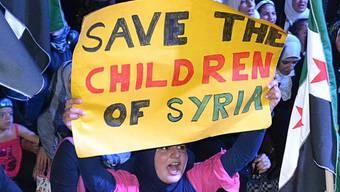 Anti-Assad-Demonstration im Libanon (Symbolbild)