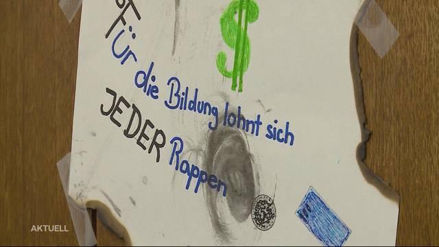 """Birrwil: """"Wir wollen ein neues Schulhaus"""""""