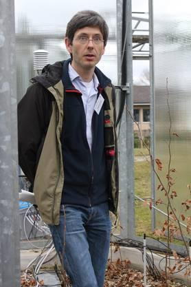 Der Forstwirt Matthias Arend