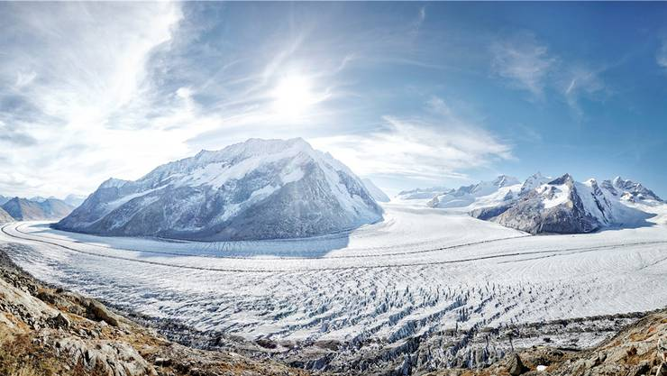 Dieses Jahr wird mit der Unterschriftensammlung für die Gletscher-Initiative gestartet.