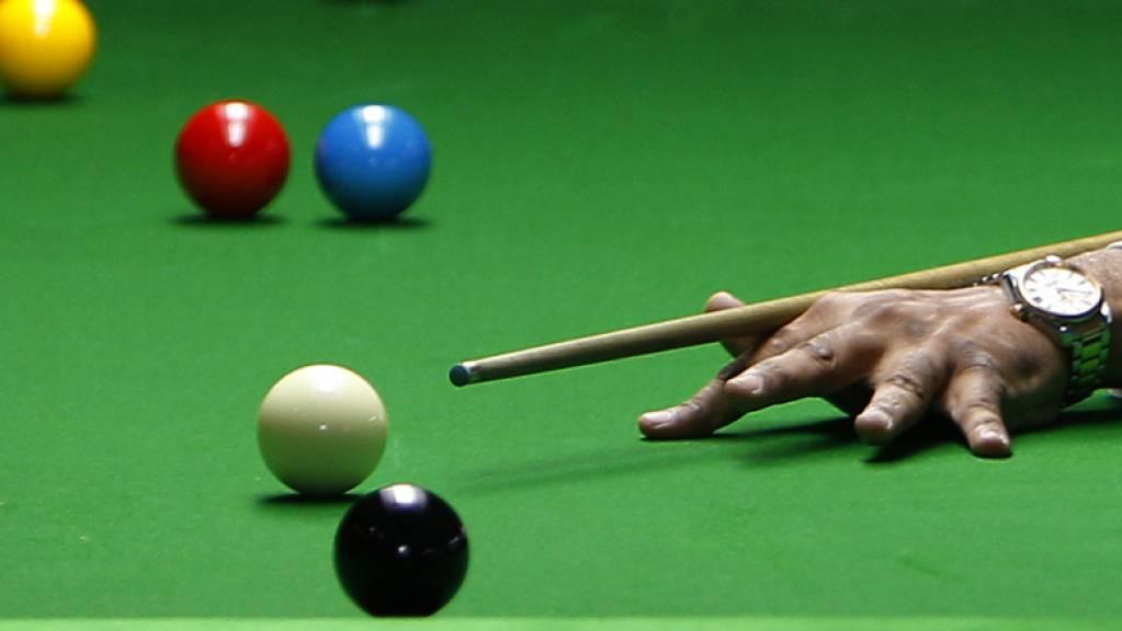 Traditionsgemäss findet die Snooker-Weltmeisterschaft in Sheffield statt
