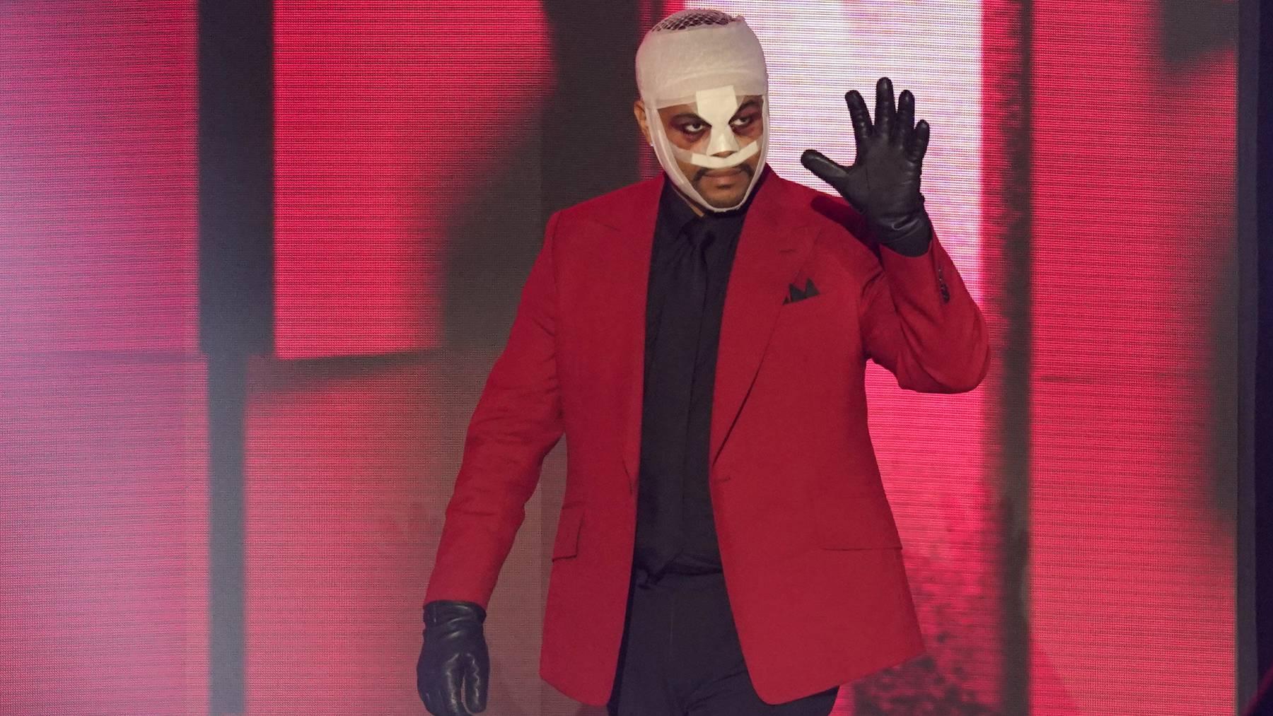 The Weeknd an einer Preisverleihung in Los Angeles.