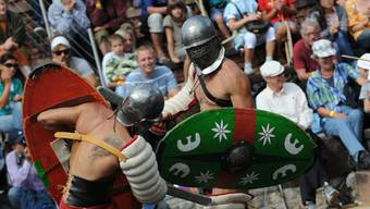 Gladiatoren und Legionäre: Die grossen Helden des Römerfests