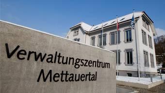 Aus dem ehemaligen Schulhaus in Mettau wurde das Verwaltungszentrum.