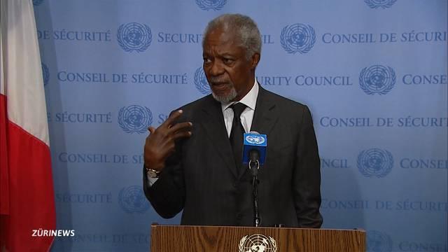 Ehemaliger UN-Generalsekretär Kofi Annan ist tot