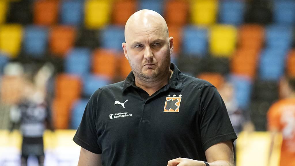 Adalsteinn Eyjolfsson will die Kadetten in seinem zweiten Jahr als Trainer zum Meistertitel führen