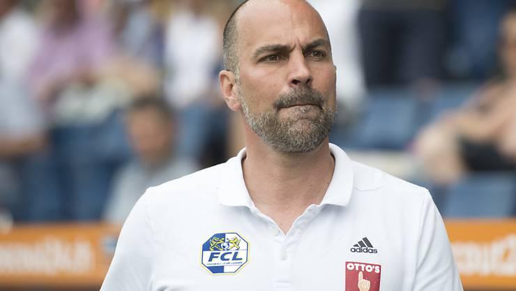 Mit Luzern nach dem Hinspiel in Osijek im Hintertreffen: Trainer Markus Babbel