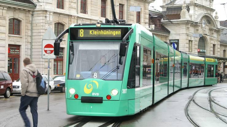 Für Tramchauffeure ein anstrengendes Pflaster: Der Centralbahnplatz.