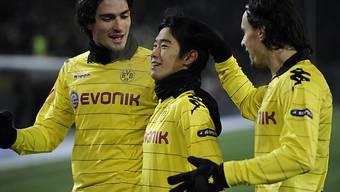 Dortmund konnte gegen Karpati Lwiw gleich dreimal jubeln