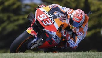 Derzeit in der MotoGP eine Klasse für sich: Marc Marquez auf der Honda