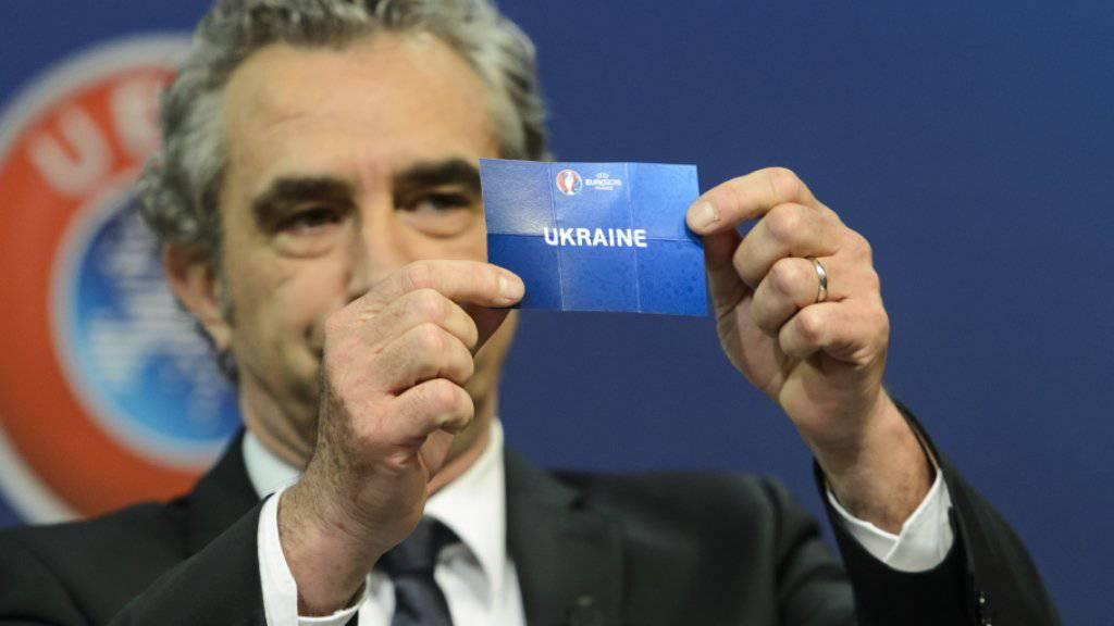 Die Ukraine wurde dem Schweizer Gruppengegner Slowenien zugelost