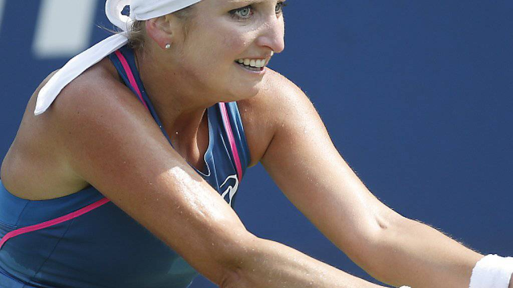 Timea Bacsinszky qualifiziert sich erstmals im Jahr 2018 auf der WTA-Tour für einen Halbfinal