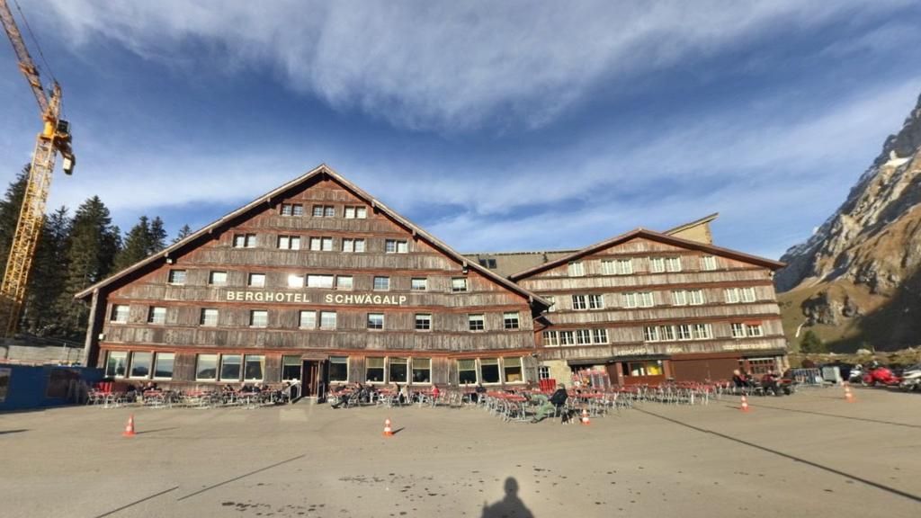Das alte Berghotel auf der Schwägalp wird bald abgerissen.