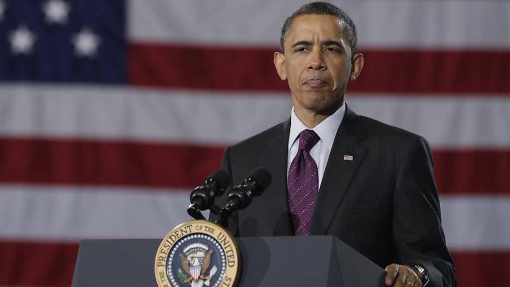 """Der Besuch des US-Präsidenten Barack Obama verhilft der Hannover Messe zu einem """"Gipfeltreffen"""" von Politikern und Wirtschaftsvertretern. (Archivbild)"""