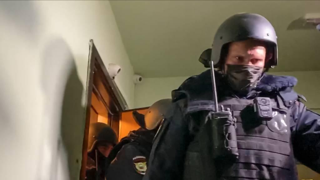 Nawalnys Bruder nach Razzien in Moskau festgenommen