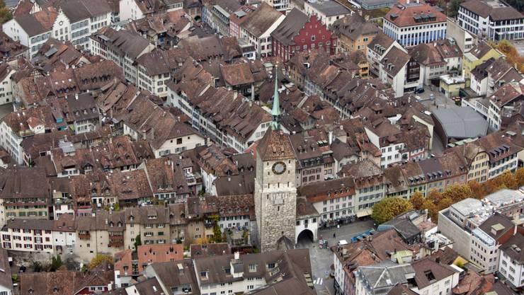 Die Stadt Aarau wird wachsen. (Archivbild)