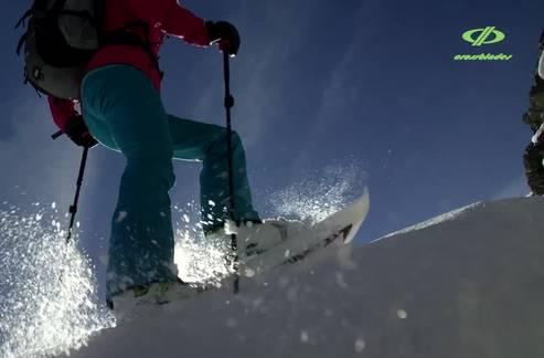 Spezielle Schneeschuhe: Das können die «Crossblades» der Inventra AG