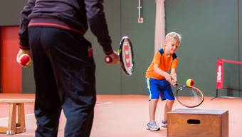 Der Trainingsnachmittag ist abwechslungsreich und fördert die Kinder individuell.