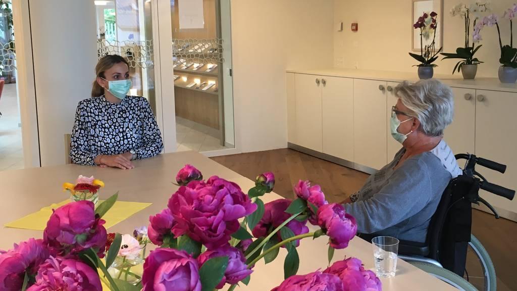Viva Luzern öffnet Besuchsräume für Angehörige
