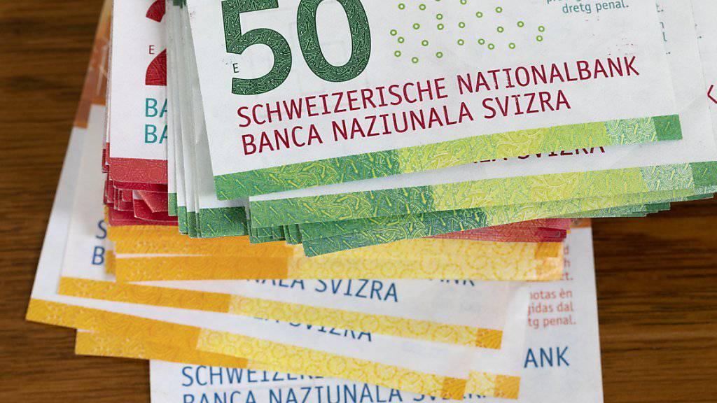 Der Schweizer liebstes Zahlungsmittel: Bargeld. (Symbolbild)