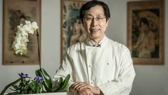 Der Chinesische Spitzenkoch Quilin Luo des Restaurants Ochsen in Dietikon erhielt von den Juroren für seine Speisen 13 Punkte. (Archivbild)
