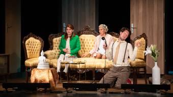 Saisoneröffnung Parktheater «Komödie im Dunkeln» des Theaters Kanton Zürich
