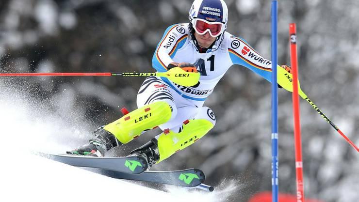Fritz Dopfer führt nach halbem Pensum mit 18 Hundertsteln Vorsprung vor Mattias Hargin