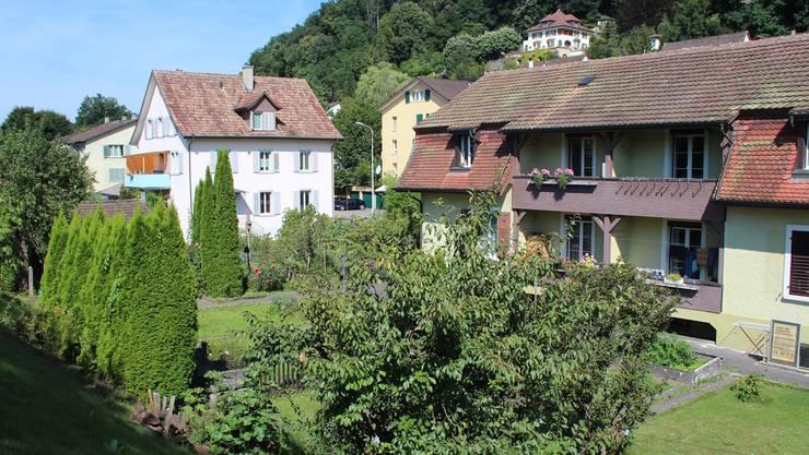 Die gute Nachbarschaft und die Gärten sind der ganze Stolz der Bewohner an der Erlinsbacherstrasse.