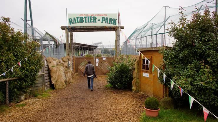 Auf der Website des Raubtierparks in Subingen steht: «Geschlossen»