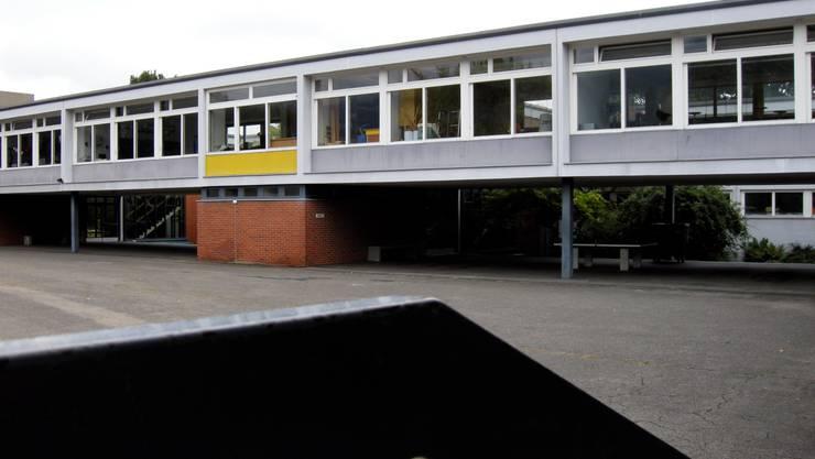 Dem Schulhaus Eichholz in Grenchen steht eine energetische Sanierung bevor