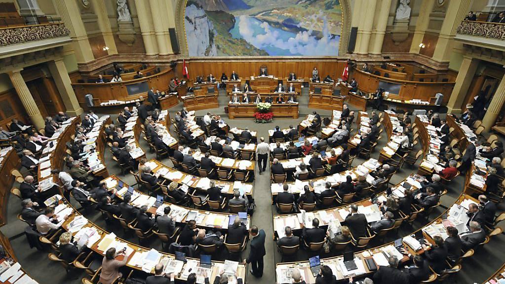Wer sitzt künftig im Nationalratssaal? Umfragen prognostizieren bei den Wahlen vom 20. Oktober einen Linksrutsch. In elf Tagen wissen wir mehr. (Themenbild)