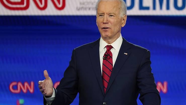 Der US-Präsidentschaftsanwärter, Joe Biden, liegt in Umfragen vor dem Amtsinhaber, Donald Trump. (Archivbild)