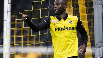 Er kann es doch noch: Jean-Pierre Nsame nach seinem Tor zum 3:0
