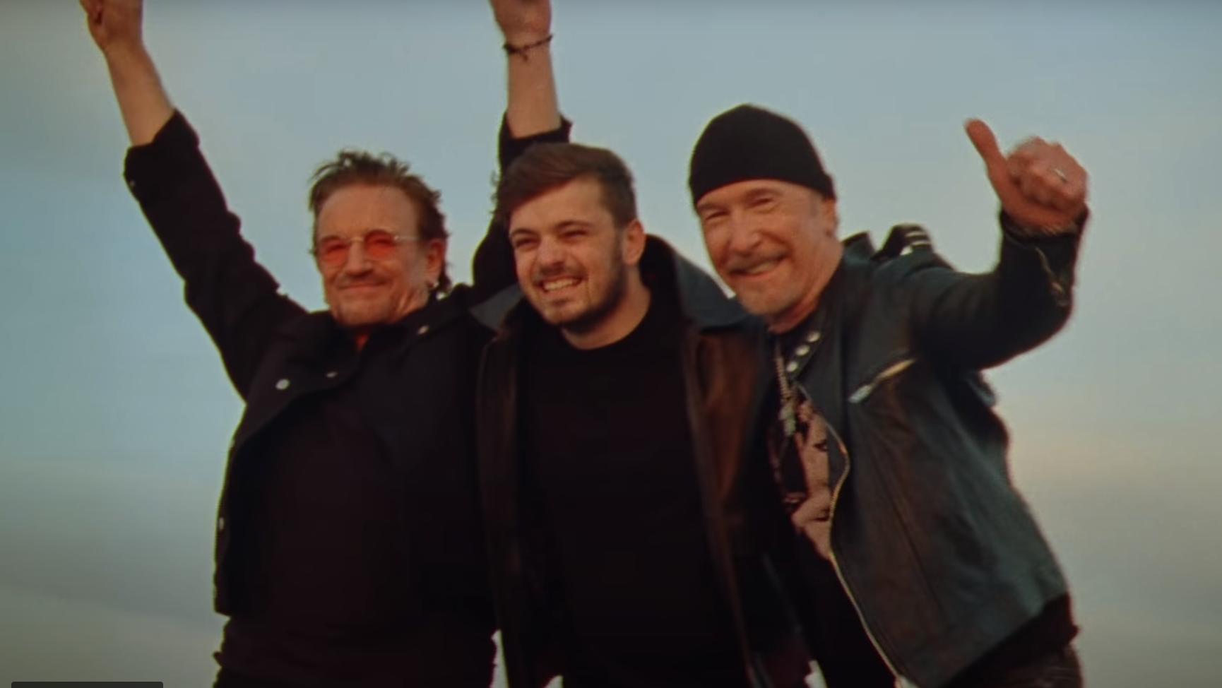 Bono, Martin Garrix und The Edge stecken hinter dem Song.