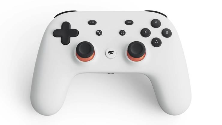 Für den Streamingdienst Stadia hat Google einen eigenen Controller entwickelt.