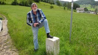 «Nach dieser Flurbereinigung haben wir in Roggenburg noch etwa ein Drittel der Anzahl Parzellen», sagt Peter Hufschmid.