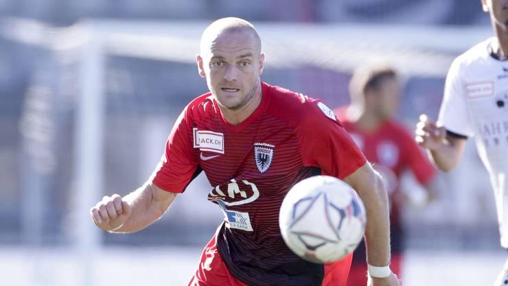 Gegen den nächsten FCA-Gegner Wil hat Marco Schneuwly eines von bisher zwei Saisontoren erzielt